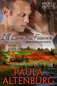 Cover of I'll Love You Forever by Paula Altenburg - romance
