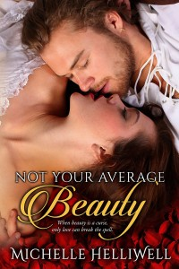 Cover for Not Your Average Beauty by Michelle Helliwell