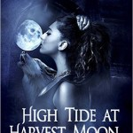 Cover of High Tide at Harvest Moon by Tayn Blackthorne - a werewolf witch paranormal romance novel