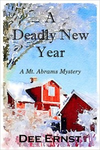 Cover of A Deadly New Year by Dee Ernst a Mt. Abrams Mystery