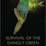 Cover of Survival of the Dangly Green Parrot Earrings by Bonny Baird a women's fiction novel