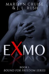 Cover of Exmo by Marilyn Cruise and JL Rush, an erotic romance for an Ex Morman