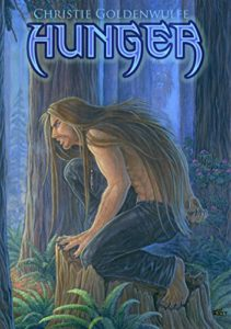 Cover of Hunger by Christie Goldenwulfe paranormal werewolf romance