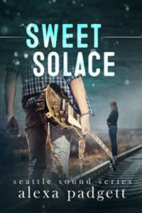 cover of Sweet Solace by Alexa Padgett a new adult romance