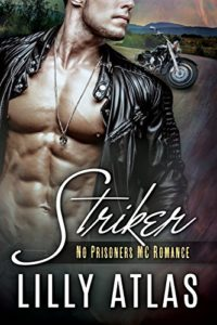 Cover of Striker by Lilly Atlas, a contemporary MC romance