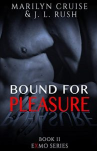 Cover of Bound for Pleasure by Marilyn Cruise and J.L. Rush an Ex Mormon erotic novel