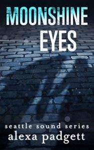 Cover of Moonshine Eyes by Alexa Padgett a contemporary romance novella